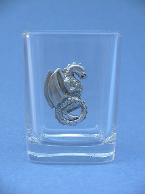 Dragon Shot Glass - Lead Free Pewter