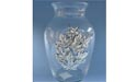 Maple Leaf Round Vase - Lead Free Pewter