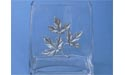 Maple Leaf Flat Vase - Lead Free Pewter