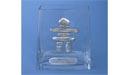 Inukshuk Flat Vase - Lead Free Pewter