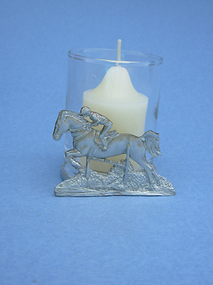 Jumper Two Piece Votive Holder - Lead Free Pewter