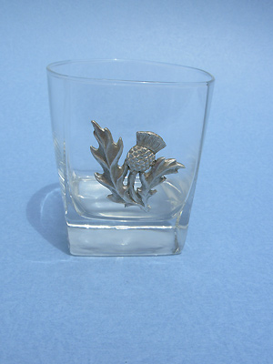 Thistle Rock Glass - Lead Free Pewter