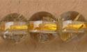 """6mm Round Rutilated Quartz (AB) - 16"""" Strand"""
