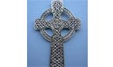 Celtic Cross Wall Hanging - Lead Free Pewter