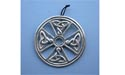 Ardagh Chalice Cross Wall Hanging - Lead Free Pewter