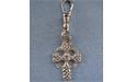 Celtic High Cross Zipper Puller - Lead Free Pewter