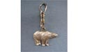 Standing Polar Bear Zipper Puller - Lead Free Pewter