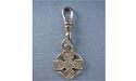 Cross Of Four Seasons Zipper Puller - Lead Free Pewter