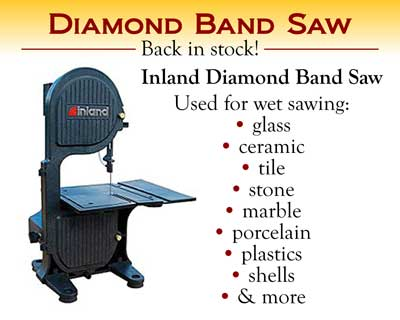 Inland Diamond Band Saw